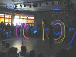 """""""Satschiki"""", unter der Leitung von Igor Kots mit ihrer Lichtershow"""