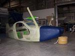 gros oeuvre du fuselage prêt au départ