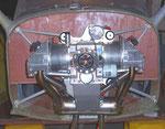 moteur en place face