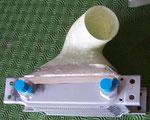 radiateur d'huile et diffuseur d'arrivée d'air (venant NACA latérale capot moteur