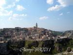 Panorama dei sassi di Matera