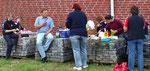 Picknick auf einem Volti - Turnier