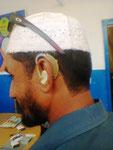 Eines von 12 Anfang 2013 gespendeten Hörgeräten