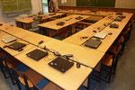 Schulmöbel gespendet von einer Schule in HEIKENDORF/GERMANY