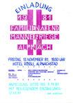 055 Familienabend 1981 - Einladung
