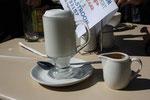 Overheerlijke koffie hier.. The Rose Cottage, Dullstrom