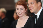 Monica Lierhaus und Mann Rolf Hellgardt