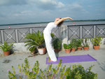 Yoga am Ganges