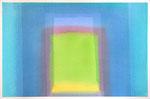 Blaues Tor. Aquarell, 38x57, 2007