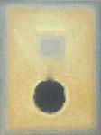 Schwarz in Gelb. Öl, 80x60, 2007