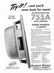 Western Electric 755 A