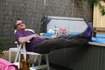 Eugenio et Rune : bière et chocolat