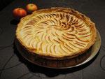 Une tarte aux pommes gourmande