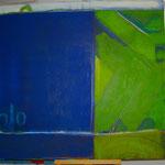 acryl auf leinen - 120 x 140