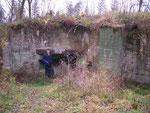 """der erste gefundene """"richtige"""" Bunker"""