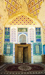 The Mosque was built in 1712 for the mother of Ashtarkhanid ruler Abul Fayud Khan (1711-47)
