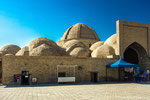 One of the best preserved trade dome in Bukhara is the 16th century Tak-i Zargaron, a multiple dome-covered bazaar