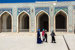 This Shaybanid mosque is comparable witn Temuricl cathedral mosques in Samarkand and Herat. It is behind Bibi-Khanym Mosque in Samarkand in number of structures, but, its area of 130 x 80 m surpasses the last one