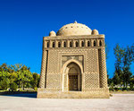 The Ismail Samani mausoleum, one of the oldest preserved monuments in Bukhara