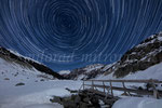 Morteratsch, Startrails, Oberengadin, CH