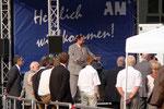 OB Sauerland hält eine Rede