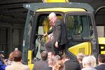 Ministerpräsident Rüttgers war auch anwesend