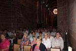Die Stiftskirche war voll!