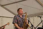 Die Klimmerband - Saxophonist