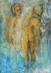 Diane et Callisto 165 x 115 cm, 2007