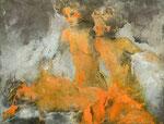 La mort d'Orphée 95 x 130 cm, 2011