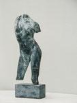 Le femme brisée (Plâtre patiné) Höhe 45 cm, 1999