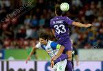 Veroljub Salatic (L,GCZ) gegen Mario Gomez (Fiorentina)