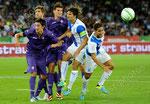 Stefan Savic (L,Fiorentina) Marcos Alonso (Fiorentina) Mario Gomez (Fiorentina) Veroljub Salatic (GCZ) Nassim Ben Khalifa (GCZ)