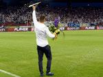 Steve Zuber verabschiedet sich vom Grasshopper Club und seinen Fans