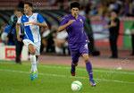 Nassim Ben Khalifa (L,GCZ) Sebastian Roncaglia (Fiorentina)