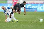 Stephane Grichting (L,GCZ) gegen Alexander Gonzalez (Aarau)