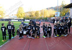 Einlaufkinder vor dem Spiel