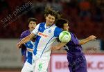 Veroljub Salatic (L,GCZ) gegen Giuseppe Rossi (Fiorentina)