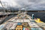 Port de Horta - île de Faial - Açores (Portugal)