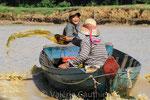 Sur le Tonlé Sap (Cambodge)