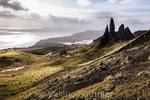 Old man of Storr sur l'île de Skye (Ecosse)