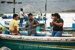 Retour de pêche à Puerto Lopez (Equateur)