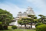 Château du héron blanc à Himeji (Japon)