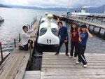 白鳥ボート!!