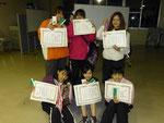 女子Aチーム優勝、青山佐藤優勝、川村種村第3位おめでとうございます!