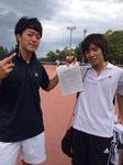 松永岡田勝ちましたよ~