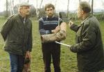 Hennie, Ben Arkes en de heer Japin