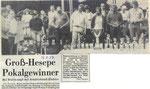 Hennie, Biehler, OG Twist, winnaars Pokalkampf 1988