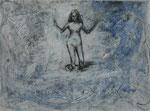 Retorno (Return) 201   Acrílico, acuarela y grafito 32 x 24 cm