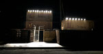 Macbeth - directed by Thomas A. Welte; Shakespeare am Berg, Muttersberg Arena, Set; photo: Tanja Ruehl